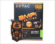 Zotac Geforce GTX660 Ti AMP! Dual Silencer DDR5 2GB
