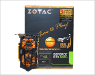 Zotac Geforce GTX660 Ti Dual Silencer DDR5 2GB