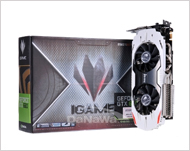Colorful GTX660 iGAME D5 2GB White Shark