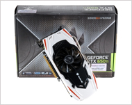Colorful GTX650TI iGAME D5 1GB White Shark