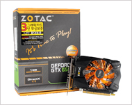 Zotac Geforce GTX650 Ti D5 1GB